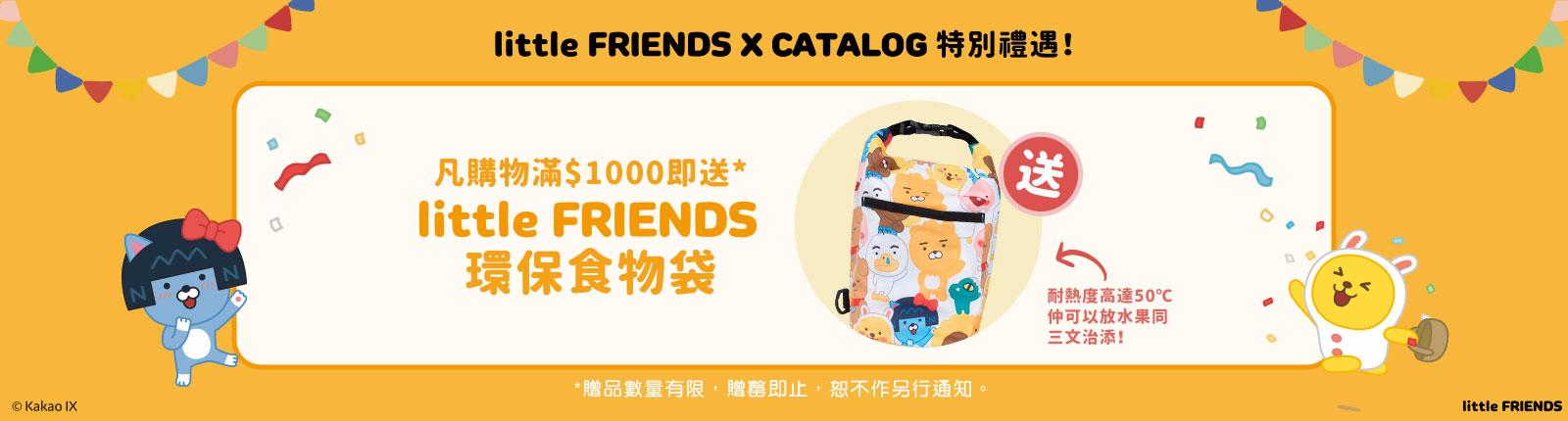 little FRIENDS x Catalog