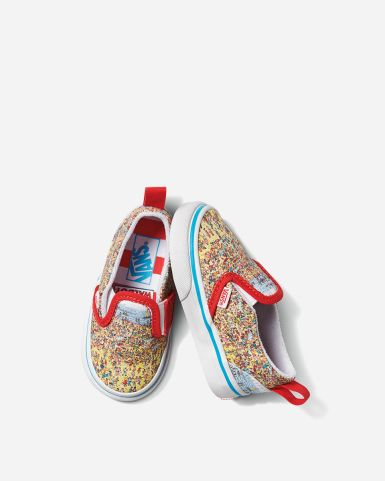 "Vans x Where's Waldo? Slip-on V ""Find Steve"""
