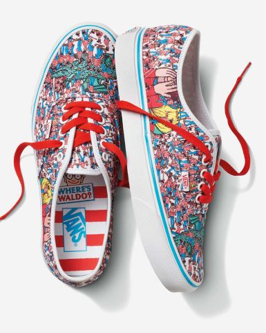 "Vans x Where's Waldo? Authentic ""Land of Waldos"""