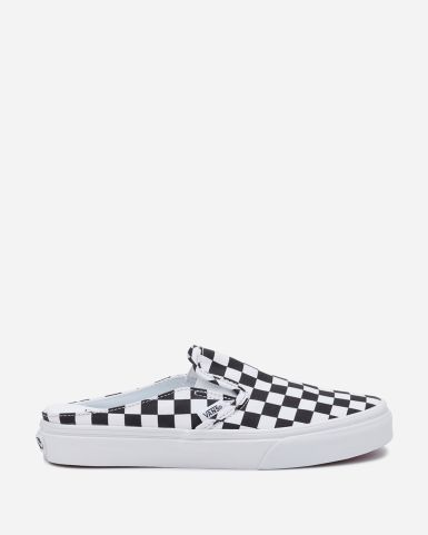 Classic Slip-On Mule (Checkerboard)