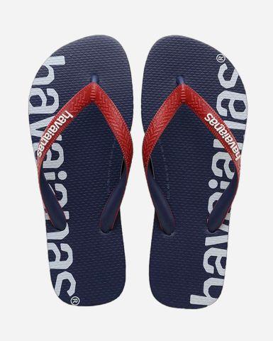 Top Logomania Hightech Flip Flops