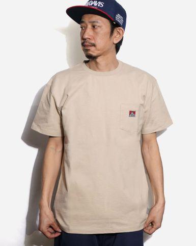 日版男裝口袋徽標短袖TEE
