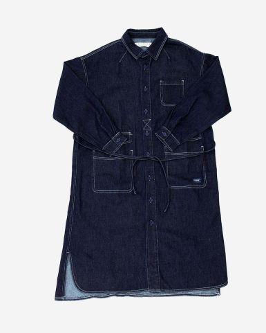 Worker襯衫裙