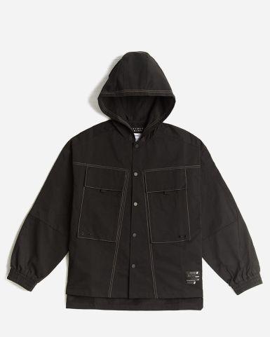 Woven Tech Hooded