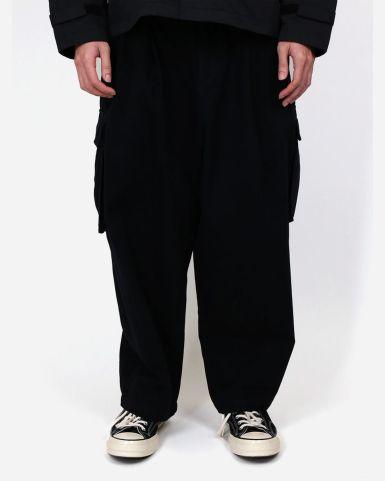 棉帆布鬆身短長褲