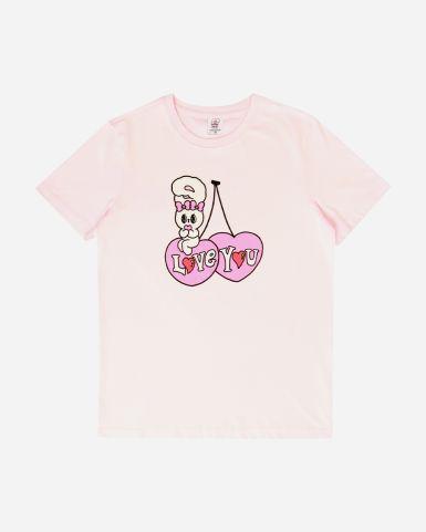 Esther Bunny 粉紅色圓領