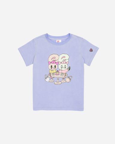 Esther Bunny閨蜜圖案紫色印花