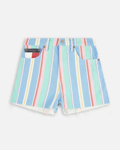 Tommy Jeans 女裝條紋短褲