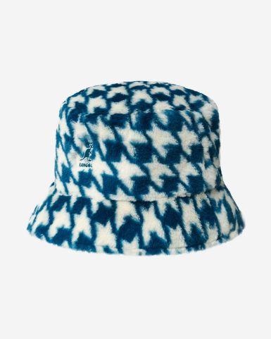 千鳥格漁夫帽