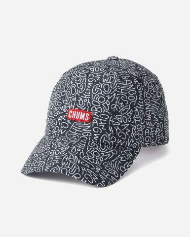 黑白花色鴨舌帽