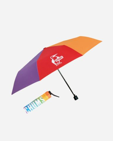 Booby 彩虹便攜摺疊雨傘