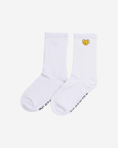 基路仔刺繡長筒襪
