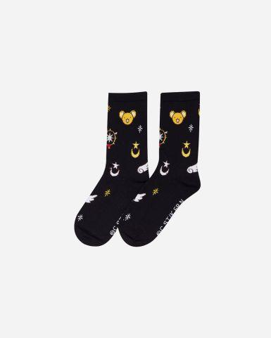 百變小櫻童裝圖案長筒襪