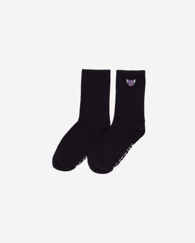 斯比刺繡童裝長筒襪